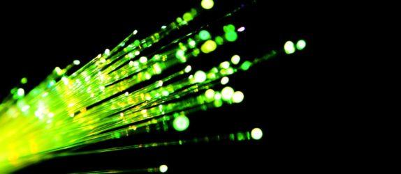 fibre optique verte