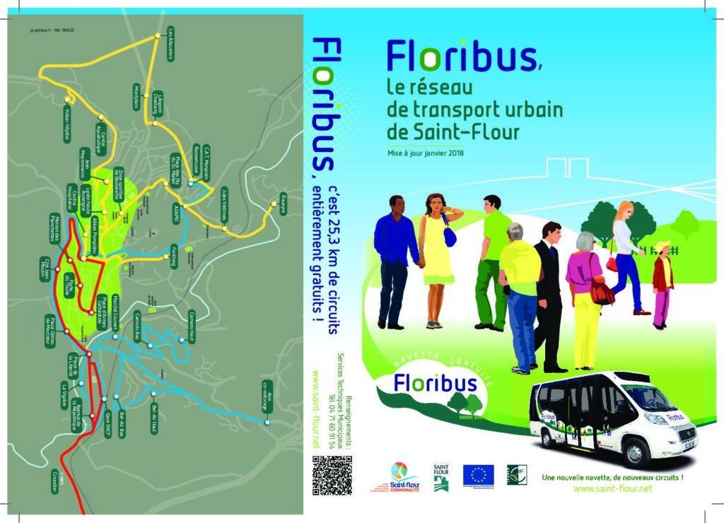 FLORIBUS : Nouveaux horaires à partir du 8 Janvier