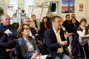 Bernard Delcros a défendu le projet de la place d'armes de saint flour