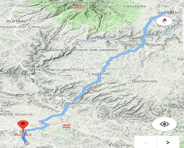 Etape à Saint-Flour pour un défi sportif et caritatif