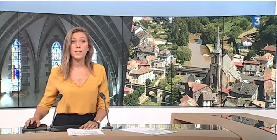 France3 projet de rénovation de l'église sainte christine
