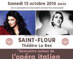 OPERA ITALIEN - 13 OCTOBRE 2018
