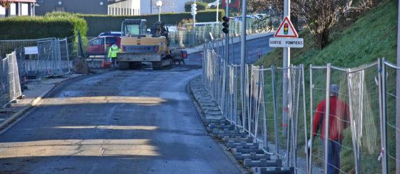 Les travaux de construction de la chaufferie bois et la réalisation du réseau de chaleur avenue de Besserette ont débutés