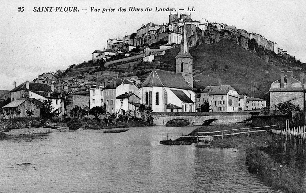 Photo-archive-vue-de-la-ville-basse-saint-flour