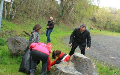 Plus de 150 kg de déchets ramassés au nettoyage de printemps