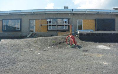 Avancement du chantier du groupe scolaire de Besserette
