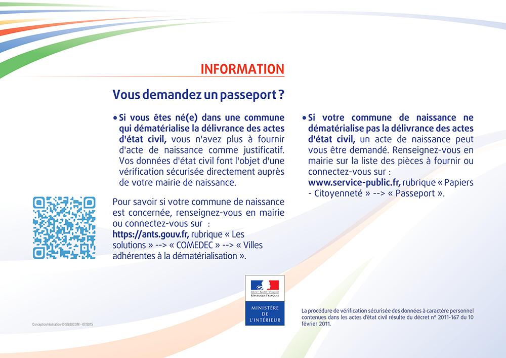 affichette comedec demande-passeport