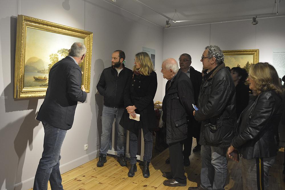 Vernissage de l'exposition Paysages Cachés