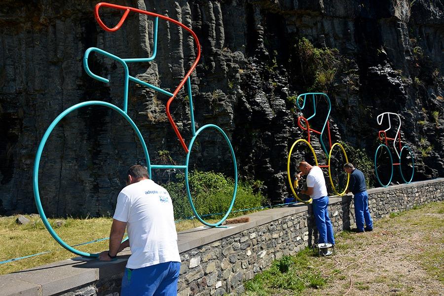 Saint-Flour se prépare au passage du Tour de France