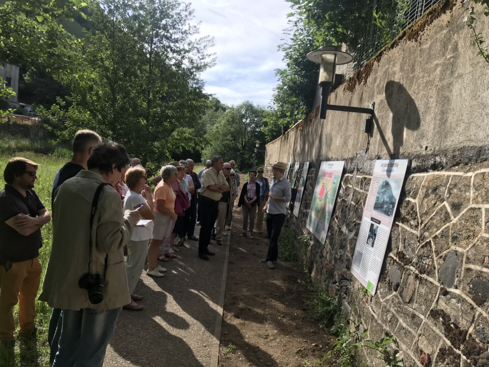 Exposition «Les Faubourgs de Saint-Flour» en plein air