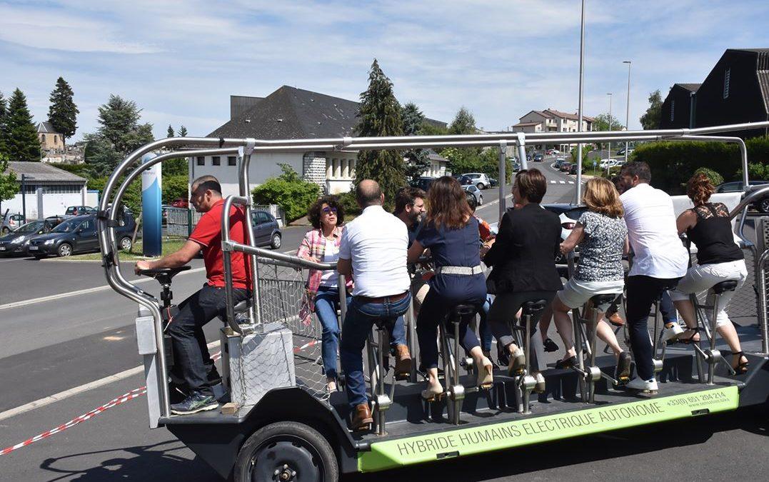 """Premières rencontres régionales """"France Mobilités"""" Auvergne-Rhône-Alpes ont eu lieu à Saint-Flour"""