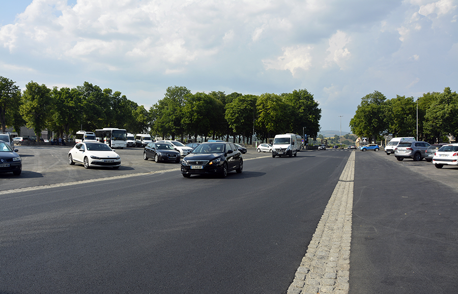 Cadre de vie : la voirie des allées Georges-Pompidou a été rénovée, dès la rentrée, place au Cours Spy des Ternes