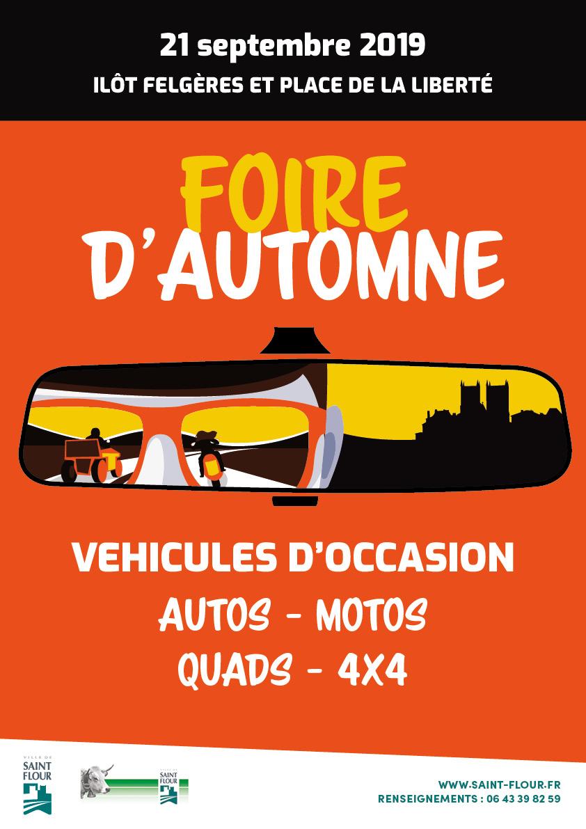 Foire automne 21 septembre 2019 - vehicules st flour