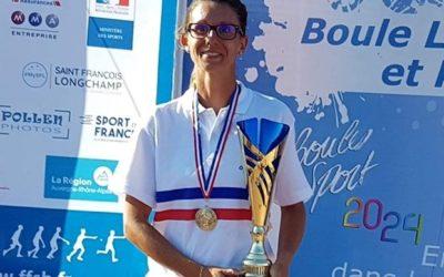 Laurène Charbonnel, championne de France