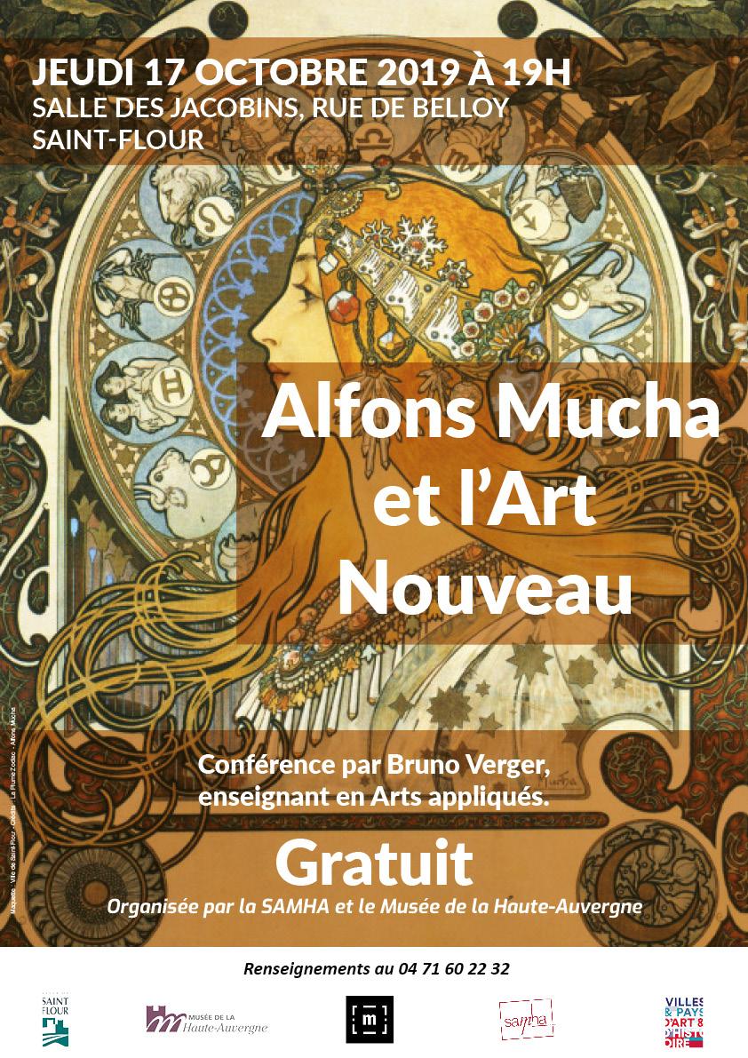 Conference-Alfons Mucha et Art Nouveau