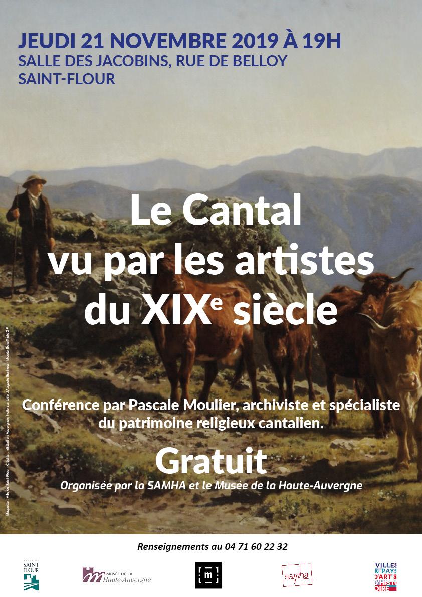 Conference-Le Cantal vu par les artistes du XIXe