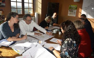 Deuxième réunion de travail pour l'aménagement de l'aire de jeux en ville haute