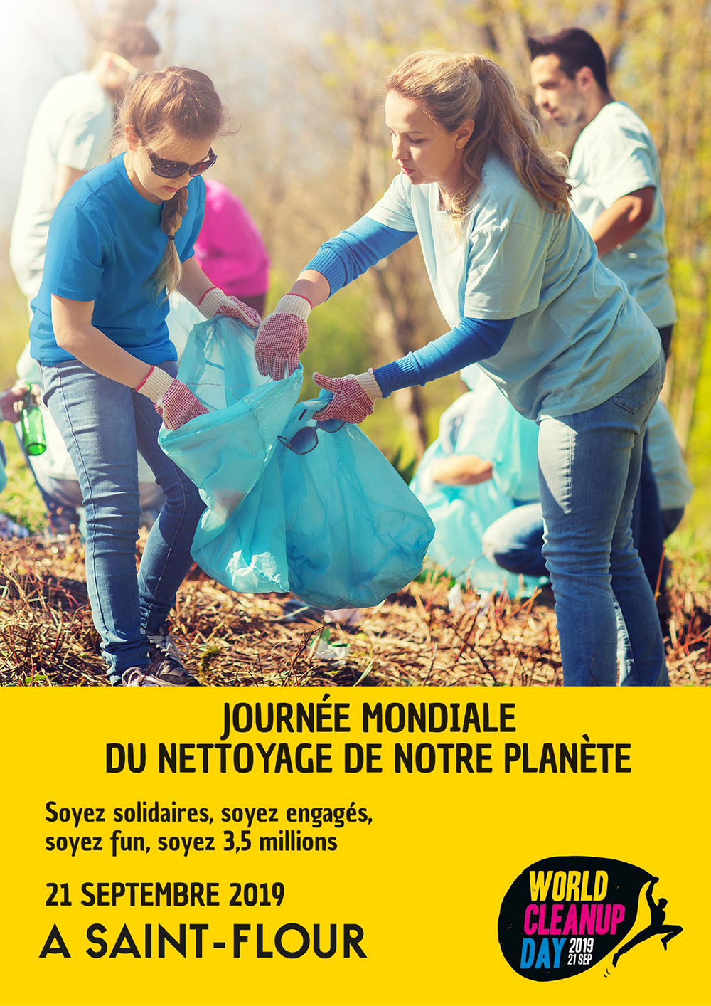 wORLD CLEAN UP DAY ST FLOUR - 21 septembre 2019