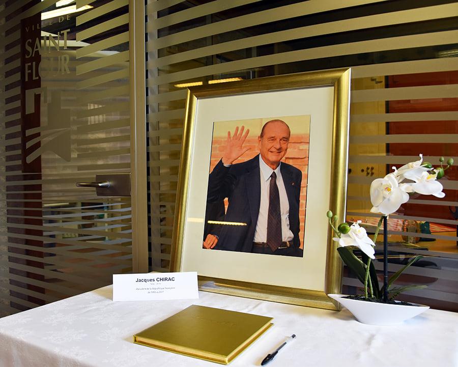 Deuil national en hommage à Jacques CHIRAC