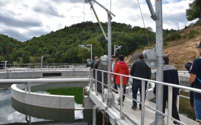 La nouvelle station d'épuration a ouvert ses portes au public