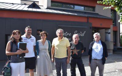 Réception des travaux au Centre Social Jean Julhe