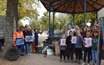 Plus de 140 participants à La chasse aux déchets