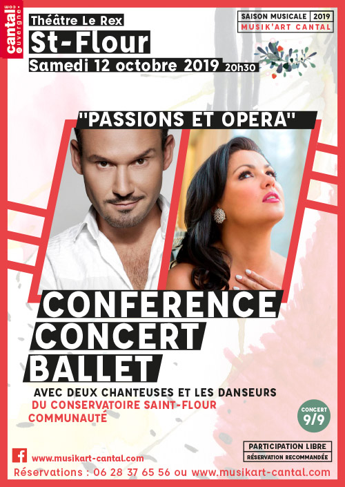 Passion et opera - theatre - 12octobre st flour