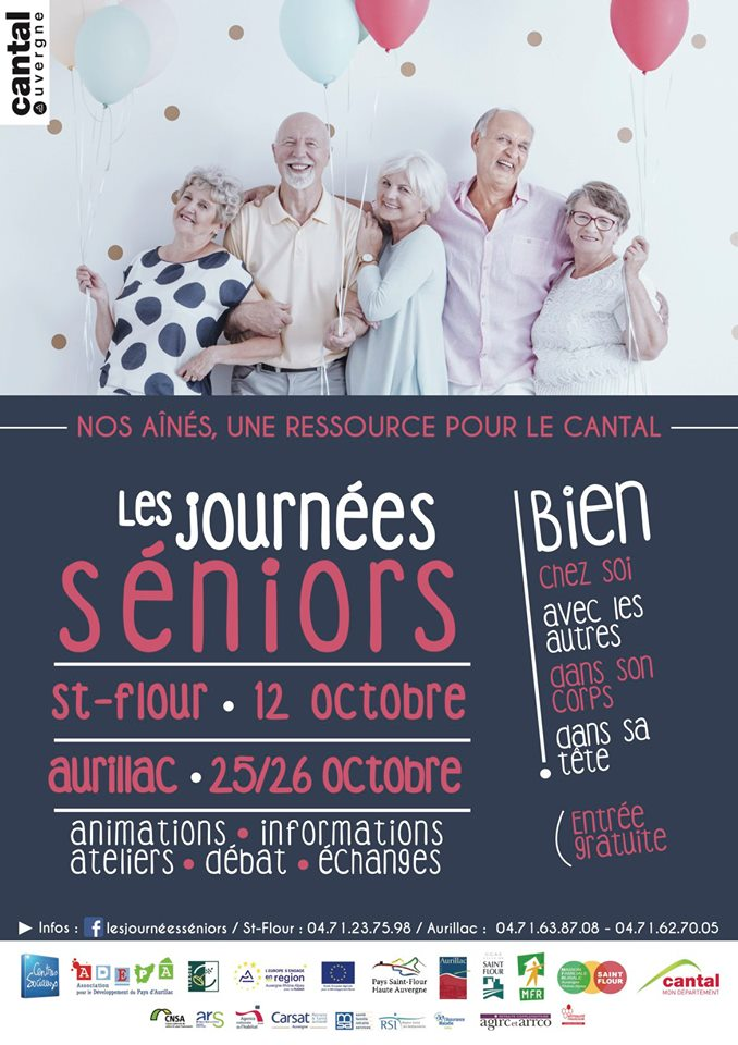 les journees seniors affiche 2019