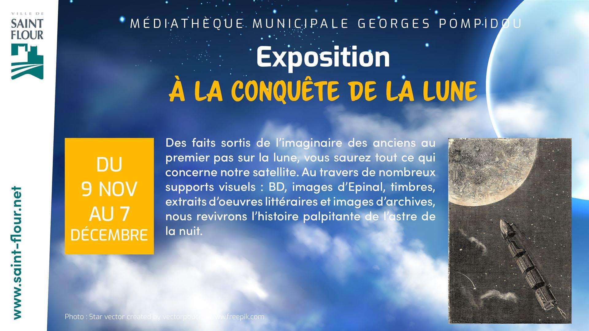 MEDIATHEQUE EXPO CONQUETE DE LA LUNE