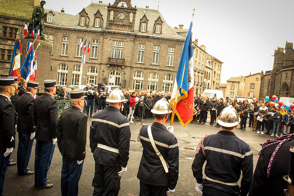 commemoration 11 novembre 2018 place d'armes
