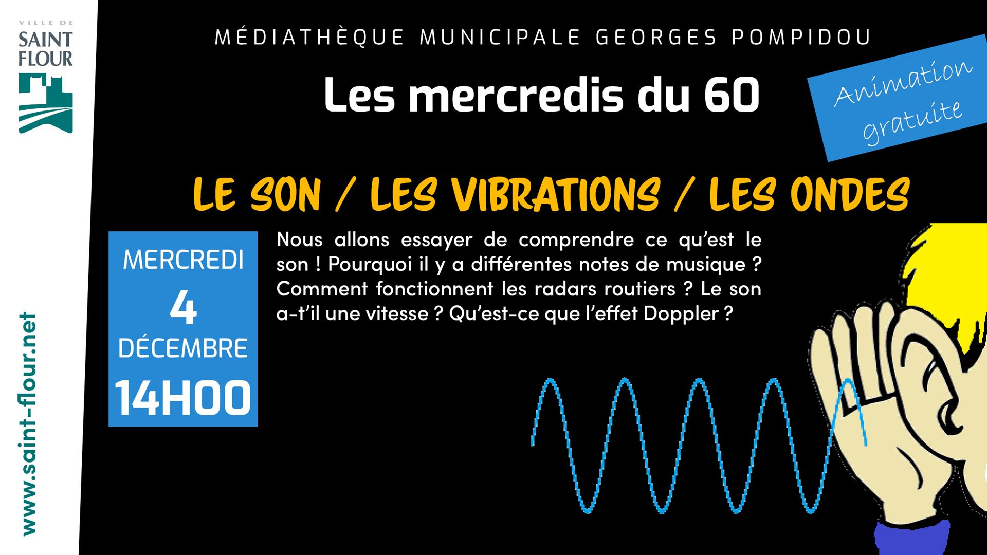 mediatheque Le son Les vibrations Les ondes