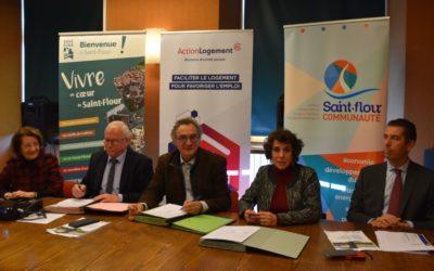 Action Logement, partenaire de la Ville de Saint-Flour et de Saint-Flour Communauté