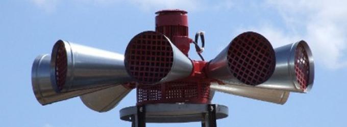 Sirène : test réel du système d'alerte et d'information des populations (SAIP)