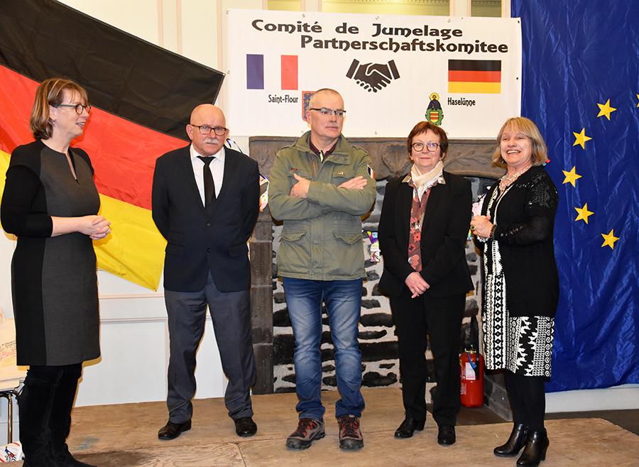 La consule d'Allemagne en visite à Saint-Flour