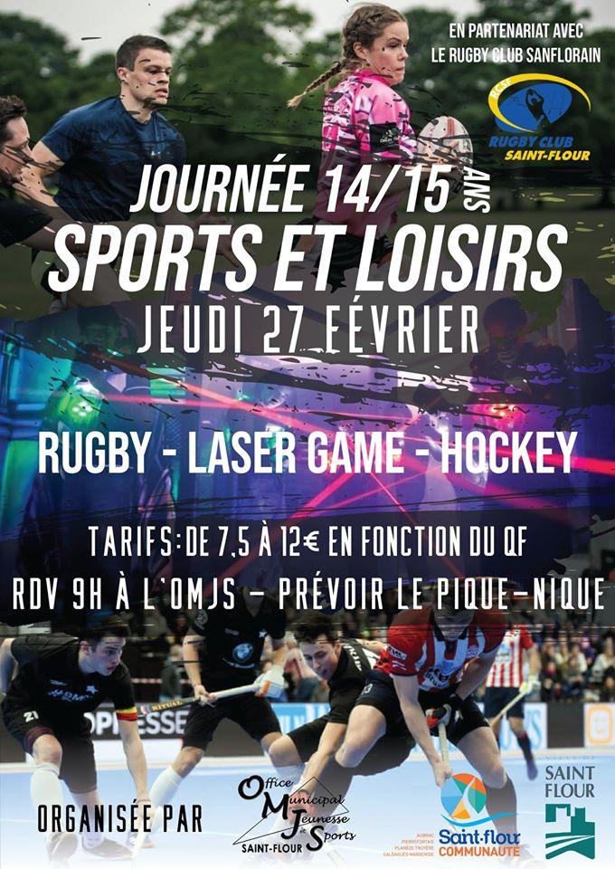Journée Sports et Loisirs pour les 14/15 ans