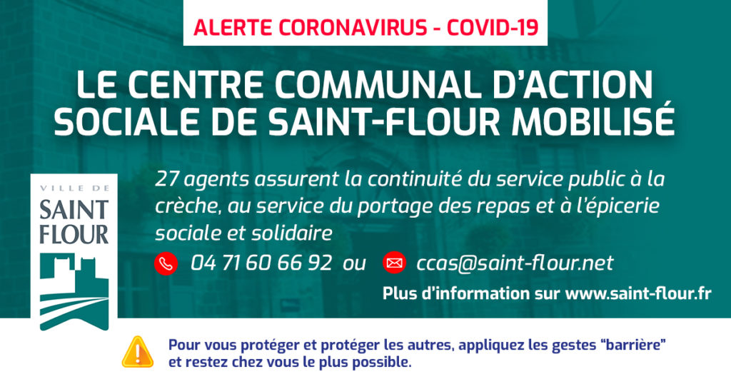 INFORMATION CCAS covid 19