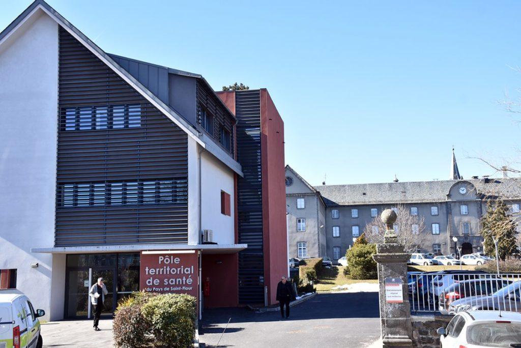 COVID-19 – Accès à la maison médicale, pôle de santé de Saint-Flour