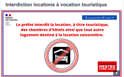 Covid-19   Interdiction des locations à titre touristique