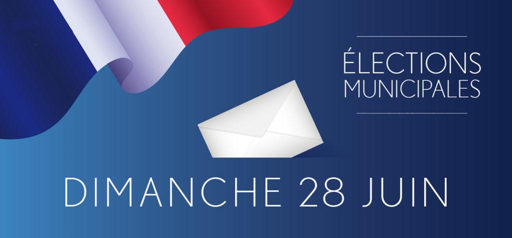 Dimanche 28 juin 2020 : second tour des élections municipales