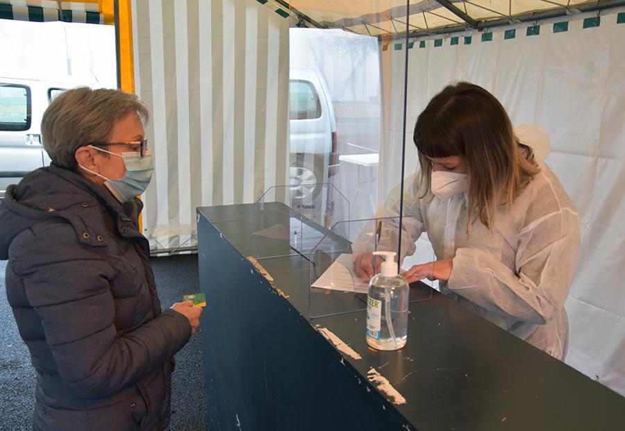 Lancement de la campagne de dépistage de la Région à Saint-Flour