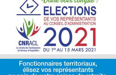 Élections des représentants à la CNRACL 2021