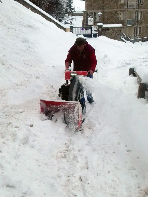 Plus de 2 000m3 de neige évacuée