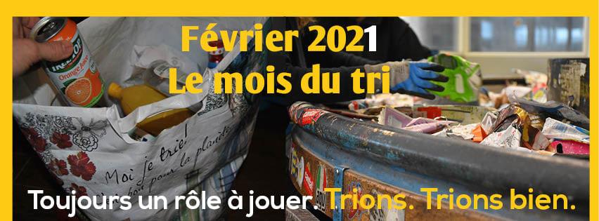 Février 2021 : le Mois du Tri