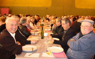 Le traditionnel repas des aînés reporté