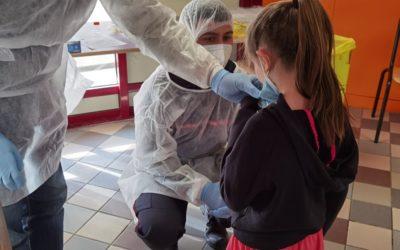 Covid-19   Tests salivaires dans les établissements scolaires de Saint-Flour