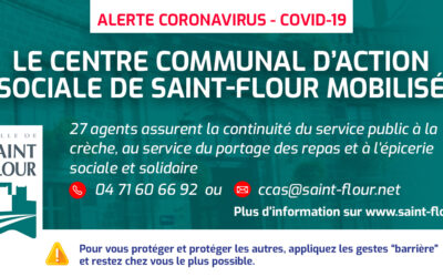 Covid-19   Les services du CCAS restent mobilisés