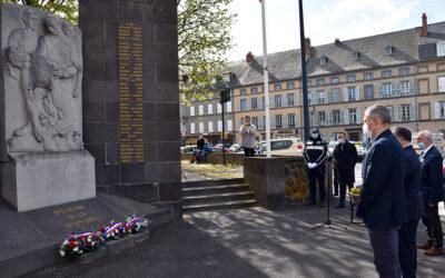 Commémoration : 76e anniversaire de la Victoire du 8 mai 1945