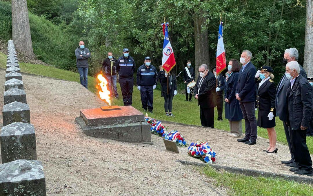 Commémoration des « Fusillés de  Soubizergues »