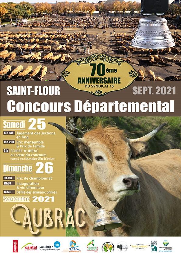 70ème édition du concours départemental Aubrac