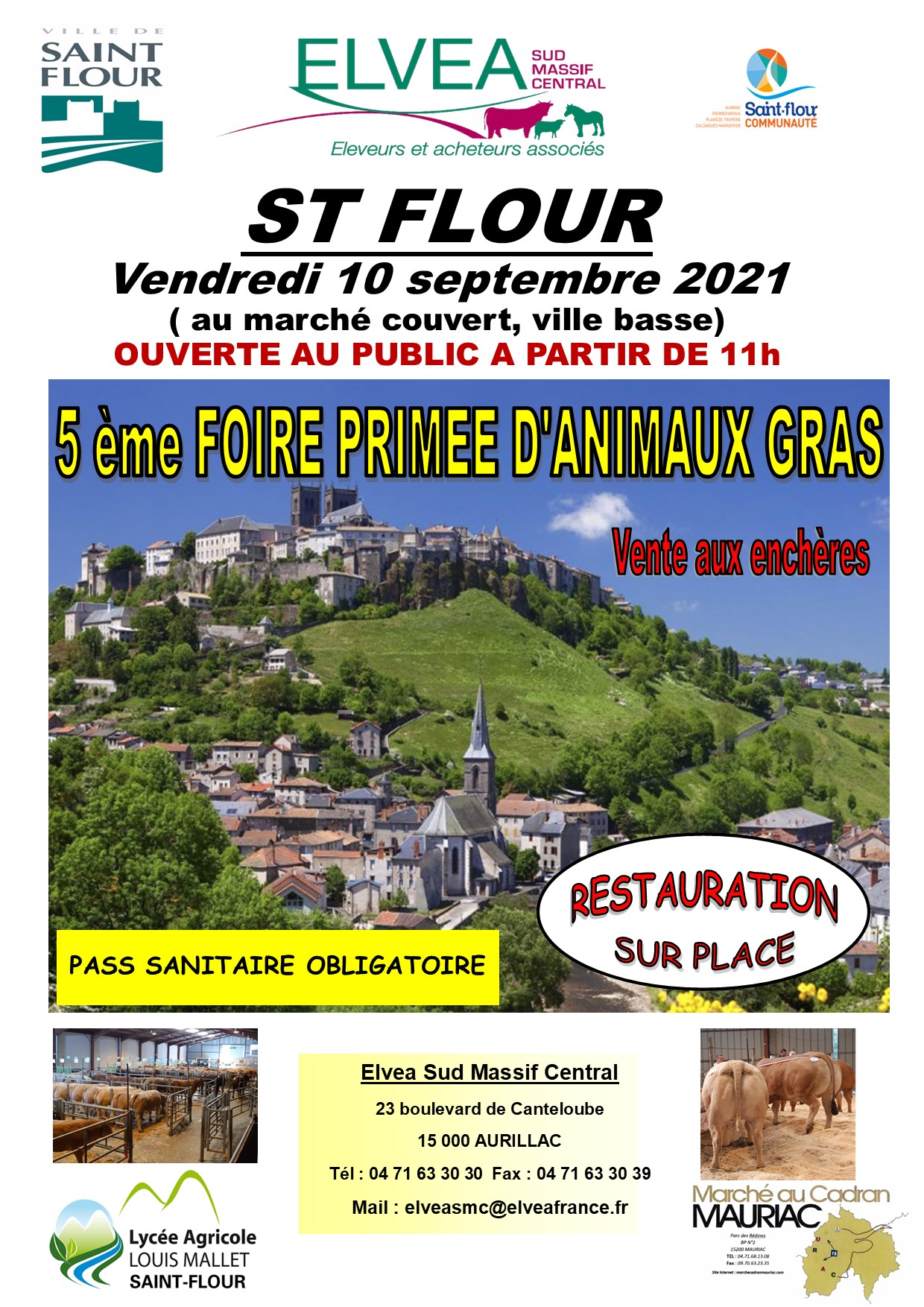 Foire aux animaux gras du 10 septembre